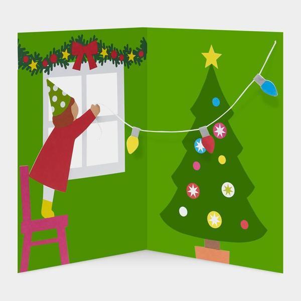 MoMA クリスマスカード トリミングツリー