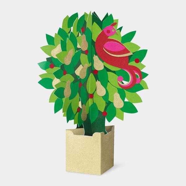 MoMA クリスマスカード パートリッジ