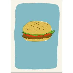 エッグプレス A5ノート ハンバーガー