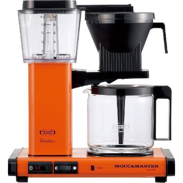 MOCCAMASTER(モカマスター) コーヒーメーカー オレンジ