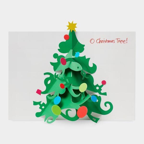 MoMA クリスマスカード オー クリスマスツリー