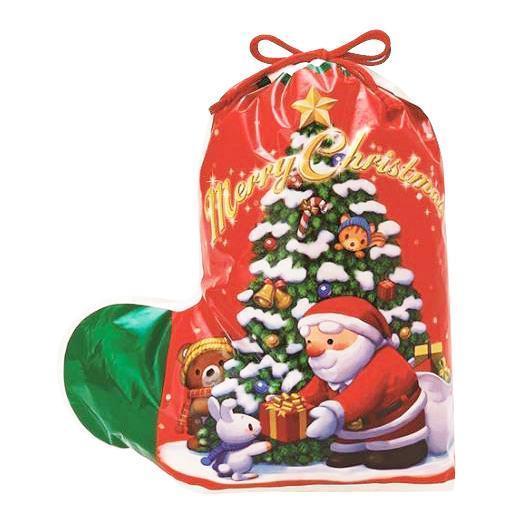 クリスマス ソックスバッグ レッド