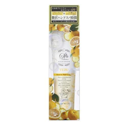 アクアシャボンスパ ハンド&ネイルクリーム ゆずスパの香り